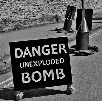 War, Sign, Ww2, Danger, Bomb, World War 11, World War 2