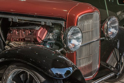 Aguas De Lindoia, Old Car, Maintained, Rarity