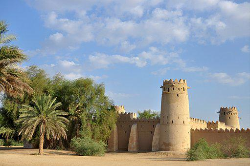 Old Fort, Jahili Fort, Al Ain, Abu Dhabi, Uae