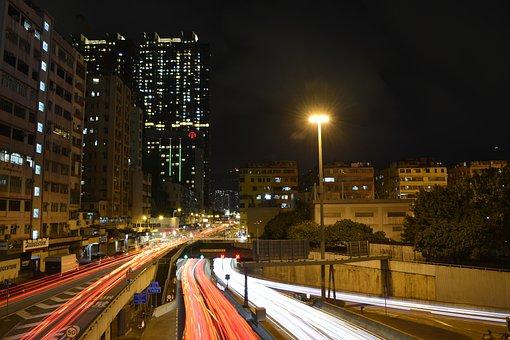 Hong Kong, Kowloon City, Tunnel, City, Asia, Travel
