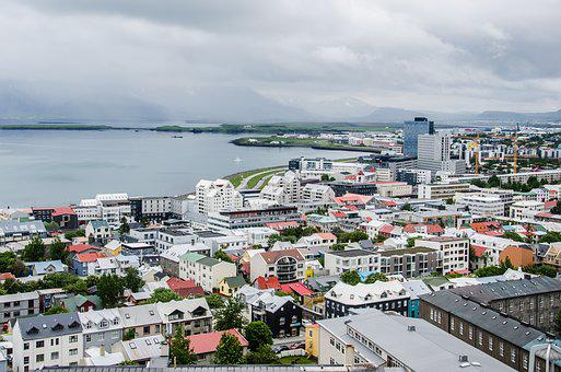 Reykjavik, Capital, City, Iceland, Travel, Cityscape