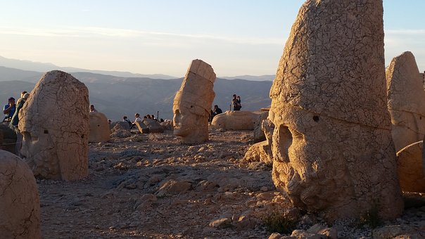 Mt Nemrut, Turkey, Commagene, Antiochus, Anatolia