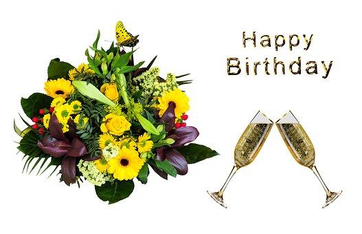 Emotions, Birthday, Greeting, Congratulations, Bouquet