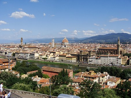 Florence, Stone, Architecture, Cathedral, Building