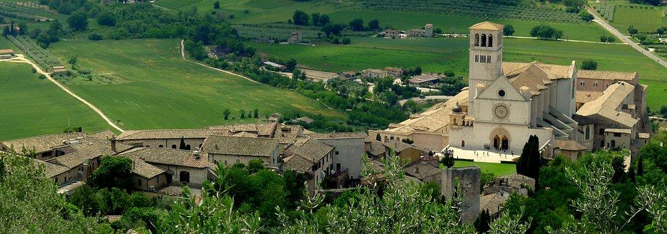 Assisi, Landscape, San Francesco, Basilica, Francis