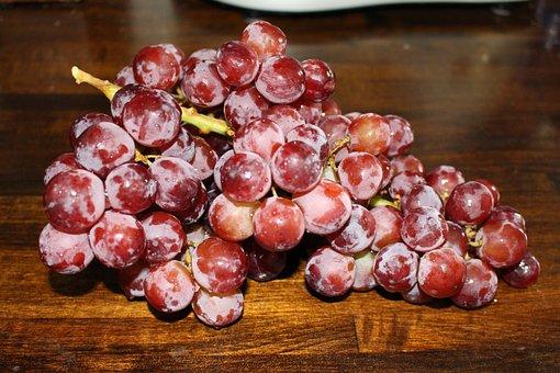 Grapes, Fruit, Bunch, Food, Organic, Fresh, Healthy