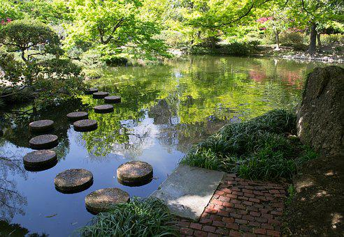 Fort Worth, Texas, Japan, Japanese, Garden, Gardens