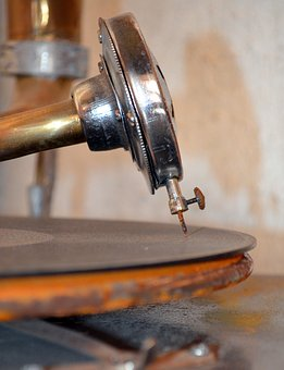 Gramophone, Turntable, Record, Nostalgia, Tinge