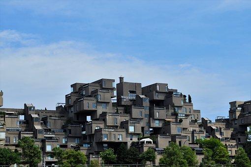 Habitat 67, Habitat, Montreal, Architecture, Quebec