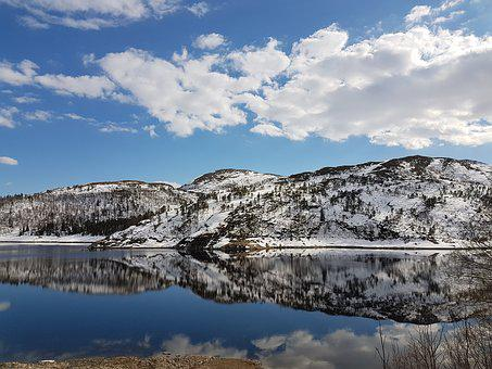 Norway, Landscape, Blue Sky, Clean Air, Purity, Healing