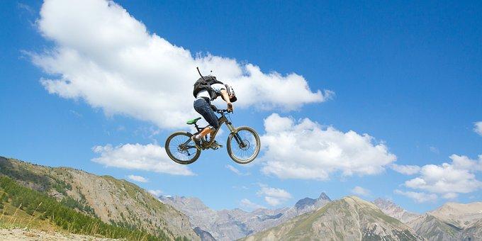 Sports, Adventure, Bike, Blue Sky, Visit, Inspirational