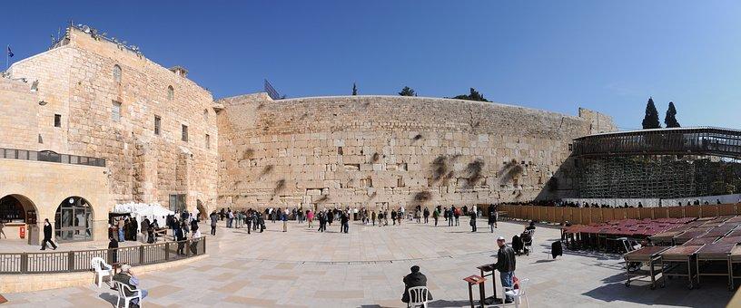 Wailing Wall, Jerusalem, Israel, Jewish, Praying