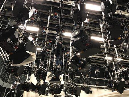 Light, Tv, Tripod, Spotlight, Lighting, Light Tripod