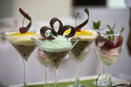 Mousse, Chocolate, Strawberries, Mango, Dessert, Deli