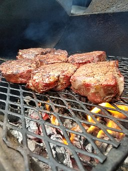 Meat, Steak, Grill, Barbecue, Beef, Meal, Tenderloin