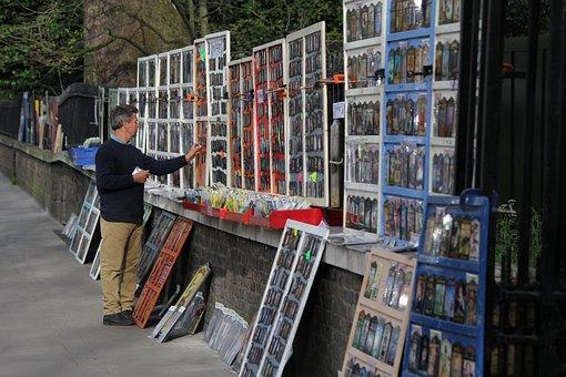 Art-buying Process, London, Park