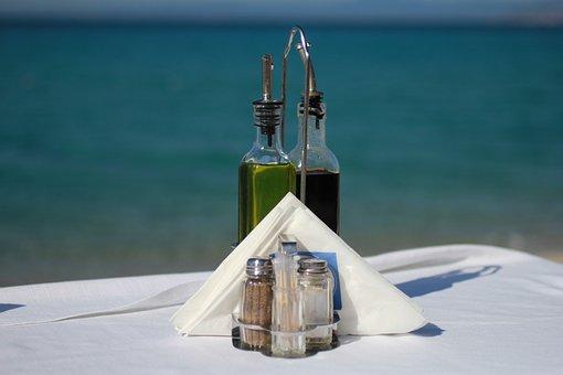 Summer, Holiday, Blue, Sea, Greece, Pepper-and-salt