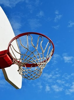 Basketball Hoop, Sky, Sport, Game, Play, Recreation