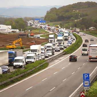 Jam, Highway, Site, Backwater, Stop, Overload