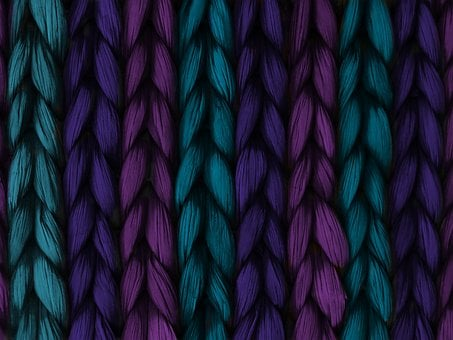Background, Weave, Plait, Blue, Purple, Pink, Texture
