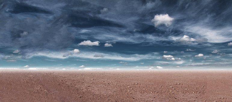 Drought, Desert, The Dry Season, Landscape, Heat, Dry