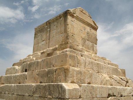 Iran, Pasargade, The Tomb Of Cyrus