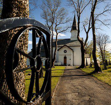 Brekstad, Trondheim, Norway, Norvey, Church