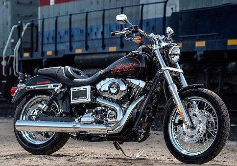 Vehicle, Motorcycle, Harly Davidson, Background Image