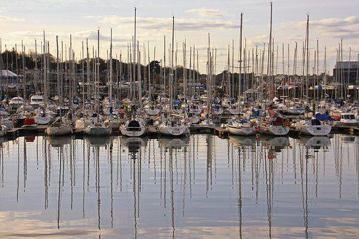 Ireland, Dublin, Howth, Port, Peninsula, Island, Water