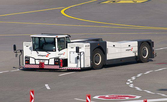 Goldhofer, Tug, Towing Vehicle, Tractor, Airport