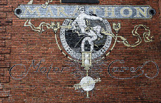 Wall Mural, Brick, Wall, Vintage, Antique, Old, Rustic