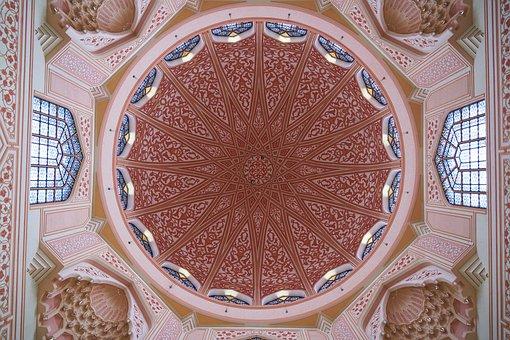 Cami, Asian, Malaysia, Pink, Architecture, Religion