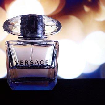 Versace, Perfume, Product, Bakeh