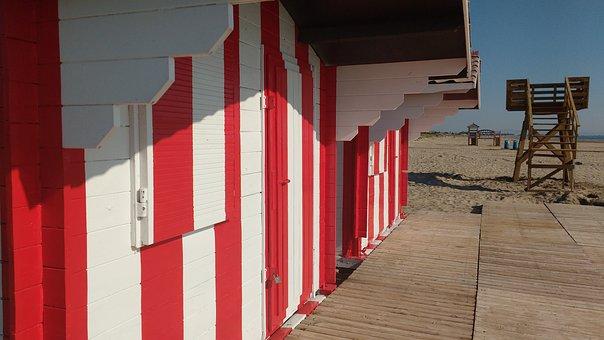 Beach, Booth, Summer, Since Life Jackets