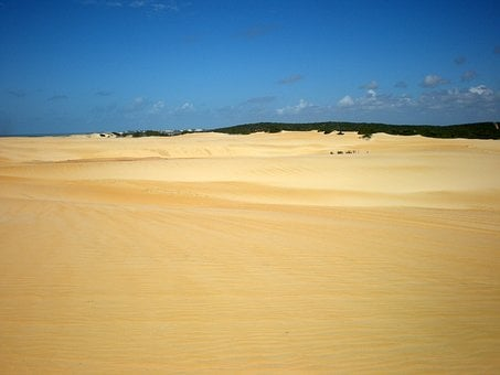 Sand, Dunes, Christmas, Sky, Beach, Northeast, Brazil