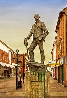 Ae Housman, Statue, Poet, Scholar, Bromsgrove, Famous