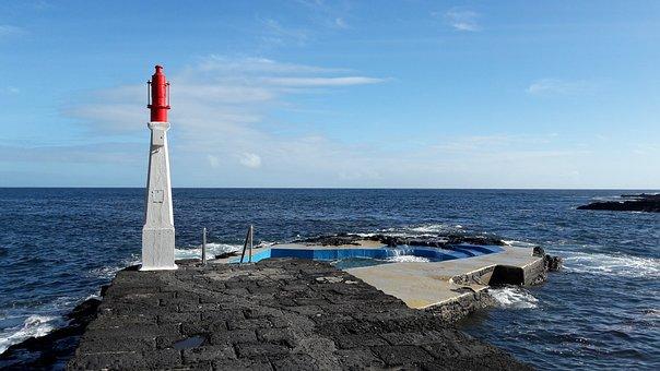 Portugal, Azores, São Miguel, Caloura, Tourism, Island