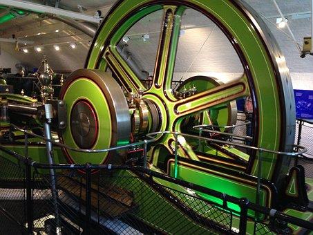 Tower Bridge, Machine, London, Engine Room