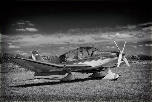 Aircraft, Flying, Flyer, Low-wing Monoplane, France