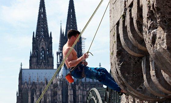 Free Climbing, Free Climb, Sport, Climber, Leisure