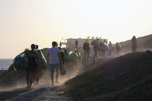 Beachcleaning, Garbage Collector, Garbage, Collect