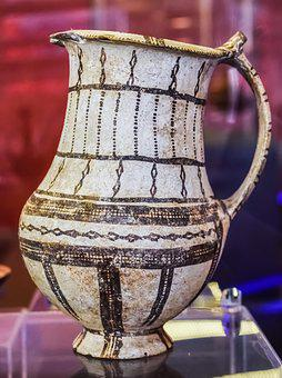 Pitcher, Clay, Ancient, Greek, Archaeology, Ceramic