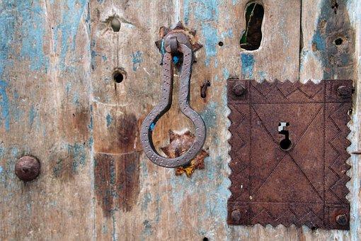 Door, Wooden Door, Castle, Input, House Entrance