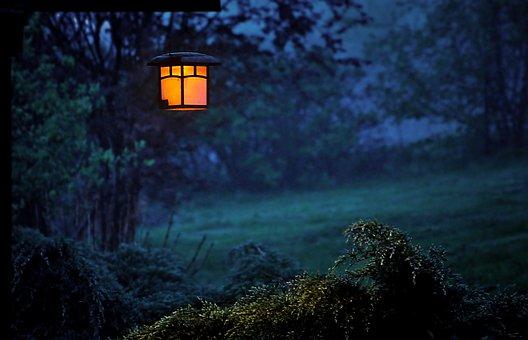Twilight, Replacement Lamp, Lantern, Evening, Light