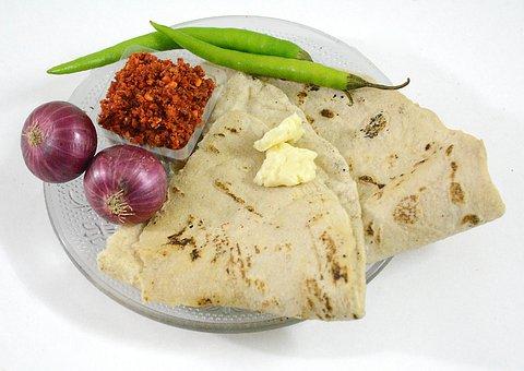 Maharashtra, Food, Marathi, Bhakari, Roti, Jwari, Flour