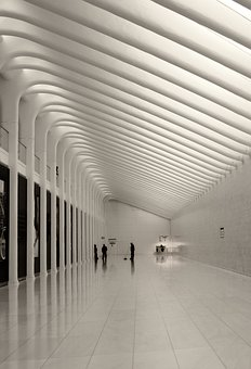 Path, Tunnel, White, Architecture, Walkway, Underground