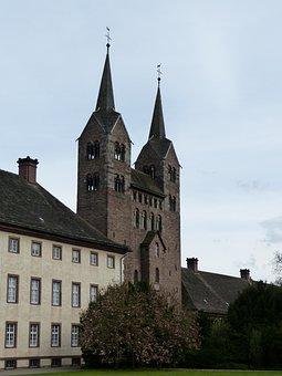 Corvey, Monastery, Church, Romanesque, Höxter