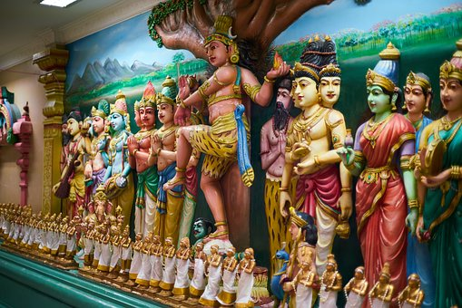 Hinduism, Indian, Temple, Sculpture, God, Faith