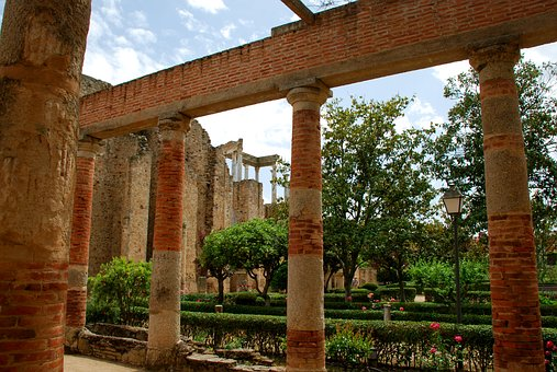 Merida, Extremadura, Theatre, Old, Hispanorromano