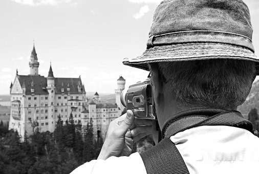 Tourist, Kristin, Bavaria, Germany, Architecture